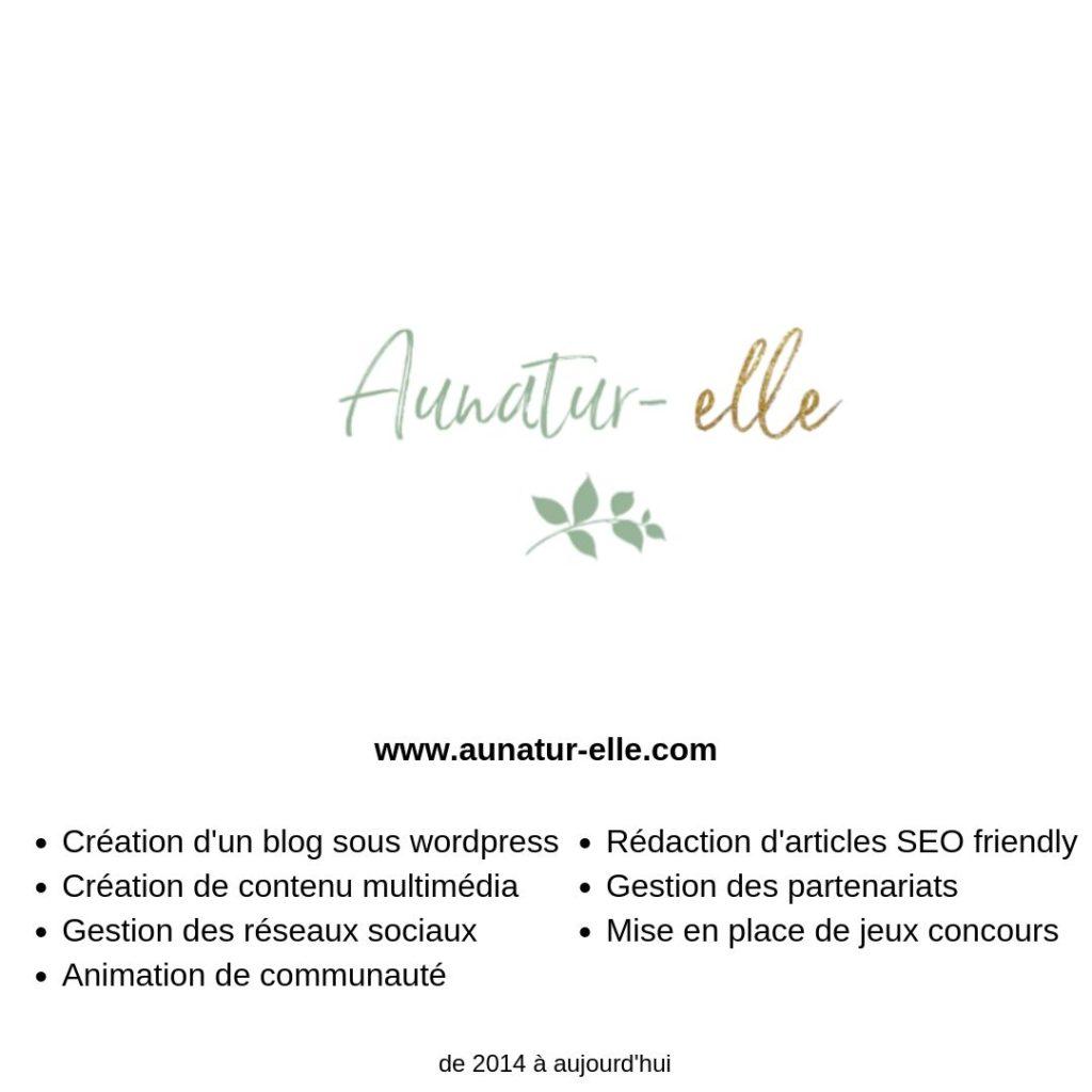 Rédactrice web pour aunatur-elle depuis 2014