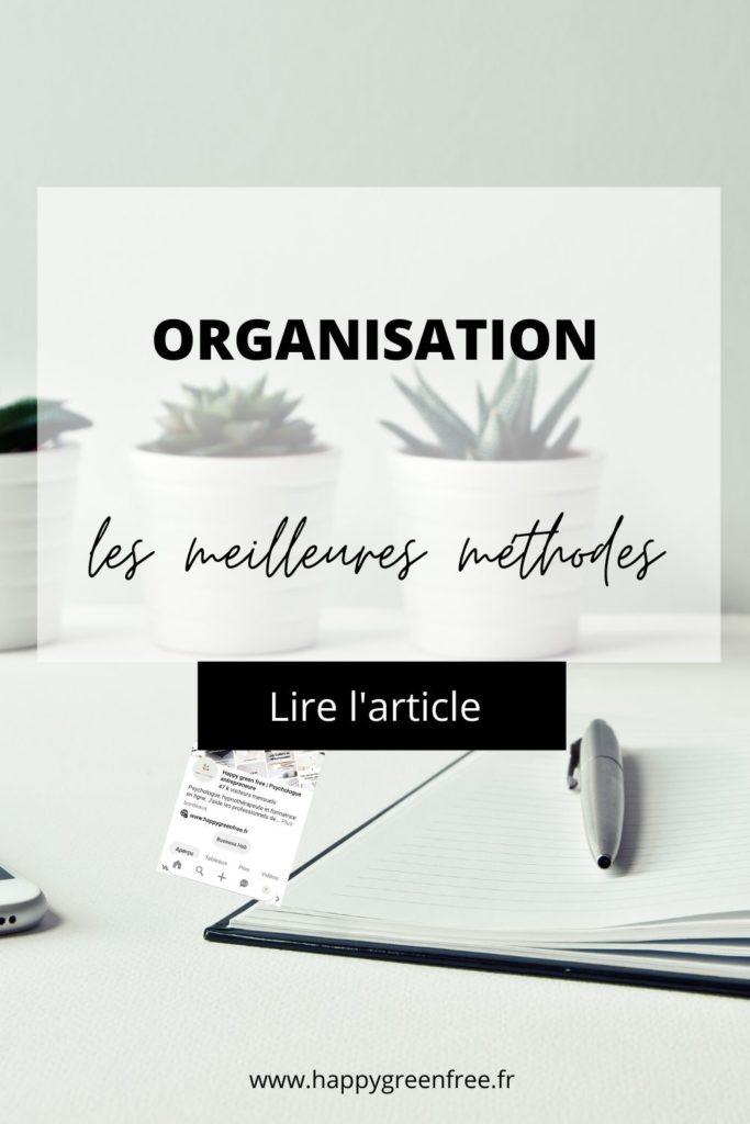 Organisation, les meilleures méthodes pour entrepreneurs