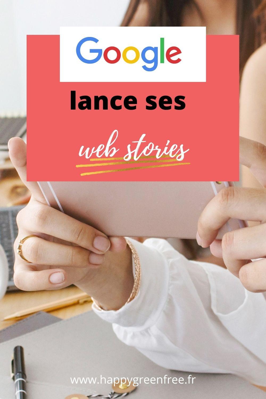 Google lance ses web stories