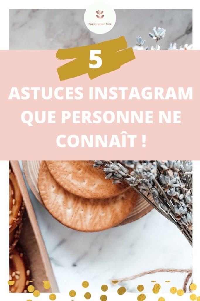 5 astuces instagram que personne ne connait