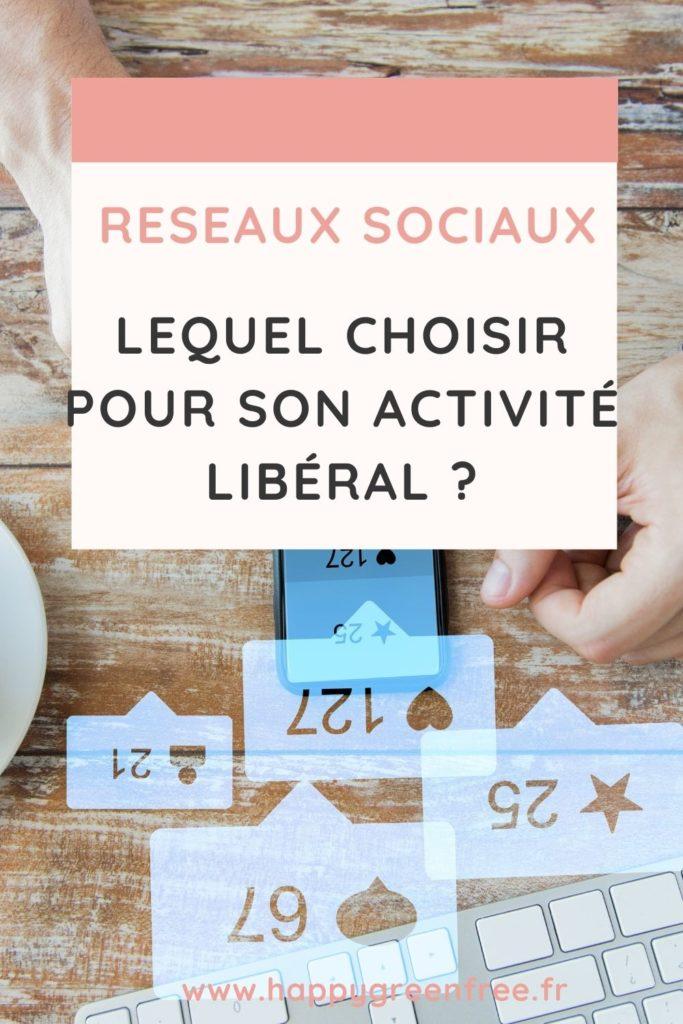 Réseaux sociaux lequel choisir pour son activité libéral