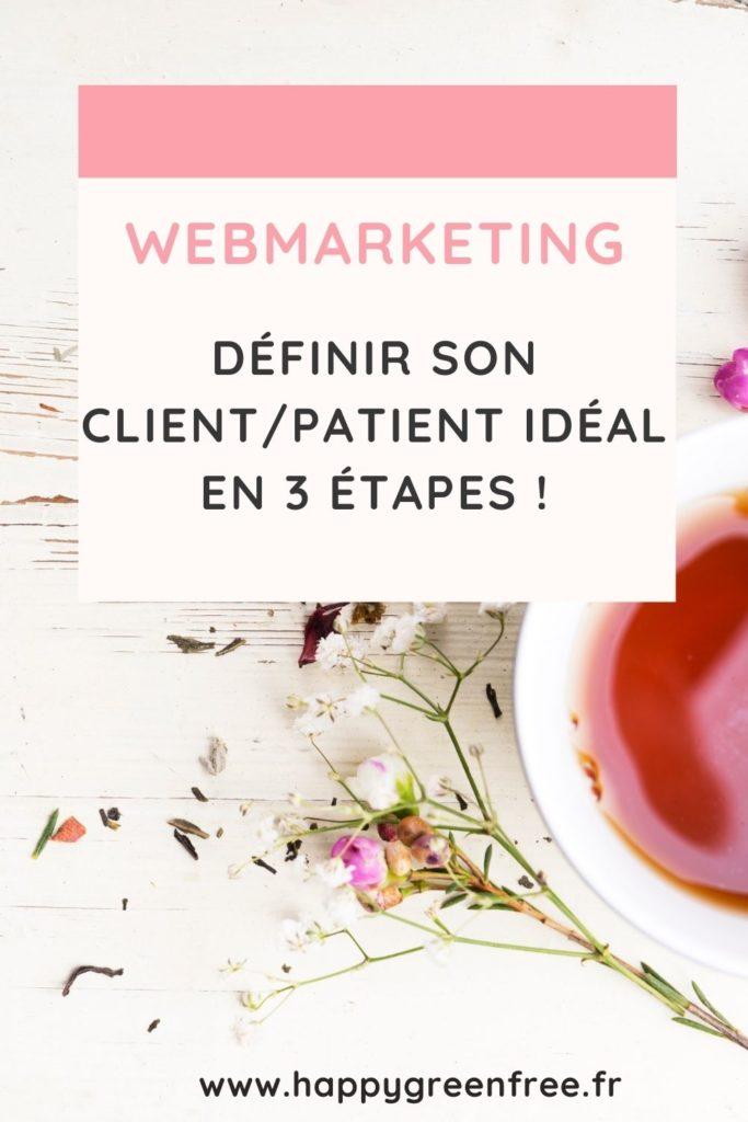 Webmarketing _ définir son client_patient idéal en 3 étapes